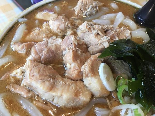 自分的富山のソウルフードは麺専門店アラキの味噌ホルモンうどん