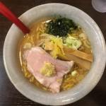 食前に野菜ジュース提供!人気気の金沢味噌ラーメン麺屋大河(高柳店)さんへ。