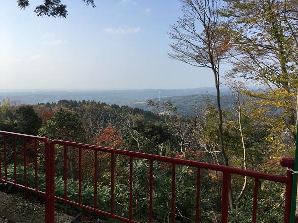 景色 倶利伽羅不動寺