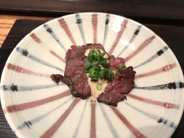 熊肉ロースト 久々に日本料理・冨久屋さん(ミシュラン1つ星店)に行ってきましたー