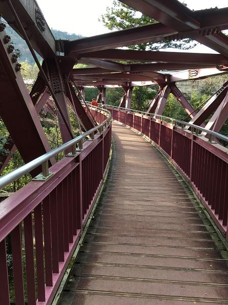 あやとり橋 石川で、紅葉なら山中温泉鶴仙渓(かくせんけい)