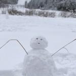 ホテル森の風立山さんで日帰り温泉+らいちょうバレーで雪だるま