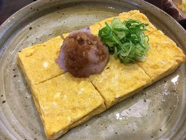 卵焼き 砺波福助さん:おつまみ系も美味しい人気お蕎麦屋さんでした!