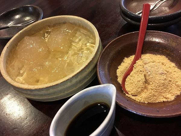 デザート 砺波福助さん:おつまみ系も美味しい人気お蕎麦屋さんでした!