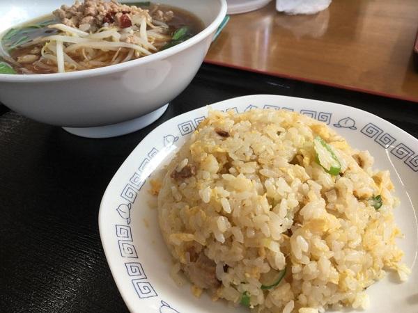 ラーメン&チャーハンセット 大沢野の激安ランチセットといえば中華料理・金盛園さん
