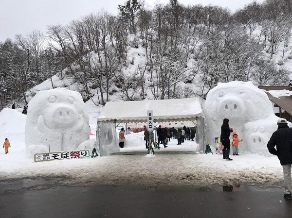 【富山観光日記】南砺市利賀そば祭りは到着時間に注意!!