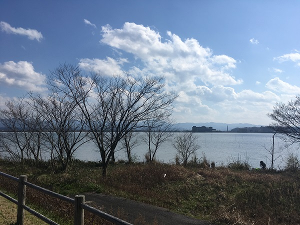 加賀で温泉ランニングなら柴山潟1周コース(約7.5キロ)がおすすめ