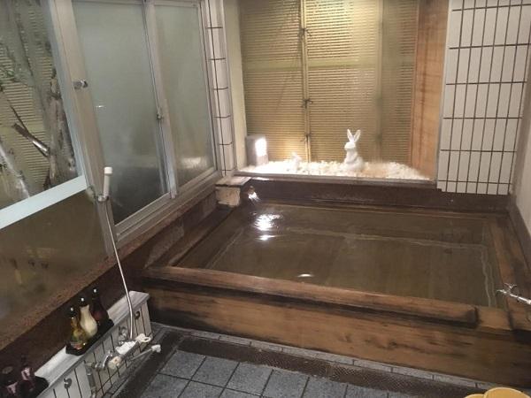 貸し切り風呂 お宿いけがみ魚津旅館