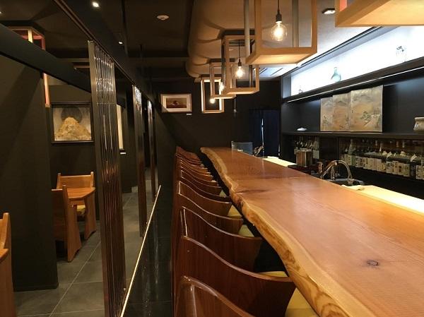 店内風景内観 接待・会食におすすめ。美和食額で和食会席を楽しむ:富山日本料理日記