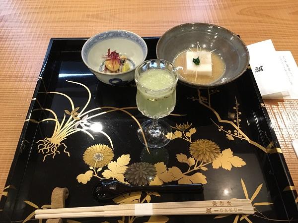 豆腐 接待・会食におすすめ。美和食額で和食会席を楽しむ:富山日本料理日記