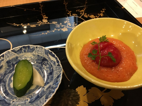 デザートトマト 接待・会食におすすめ。美和食額で和食会席を楽しむ:富山日本料理日記