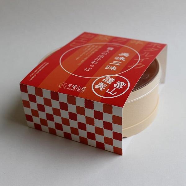 富山の料亭 千里山荘様の出汁わっぱ・しゅうまいパッケージデザイン:制作実績