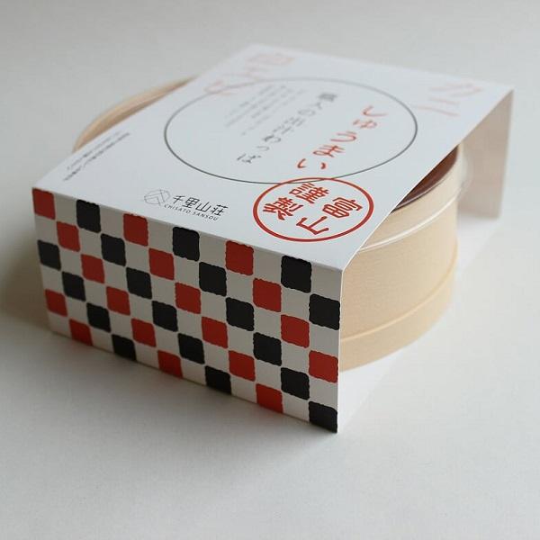 富山の料亭 千里山荘様の出汁わっぱパッケージデザイン:制作実績