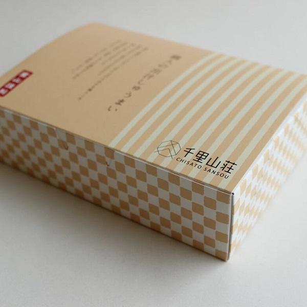富山の料亭 千里山荘様しゅうまいパッケージデザイン:制作実績