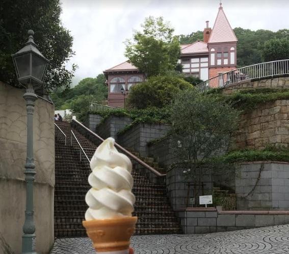 異人館に行くなら神戸六甲牧場のソフトクリームがおすすめ!