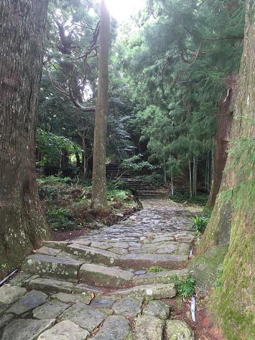 熊野那智大社の大門坂