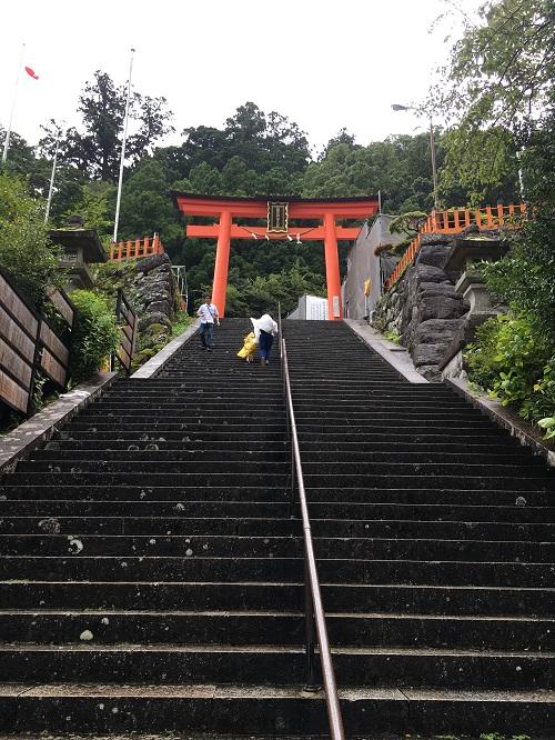 鳥居 熊野那智大社