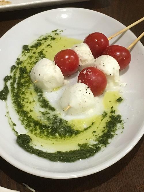 カプレーゼ焼き 富山焼鳥日記:イタリアンと焼鳥の融合!YAKITORIYAちいろさん