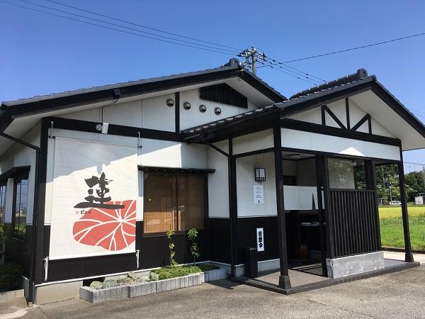 店舗外観 富山ランチ日記:小杉の自然派らーめん蓮さんで無化調富山ブラック