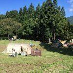 1泊1030円の激安キャンプサイト立山山麓家族旅行村でテント泊