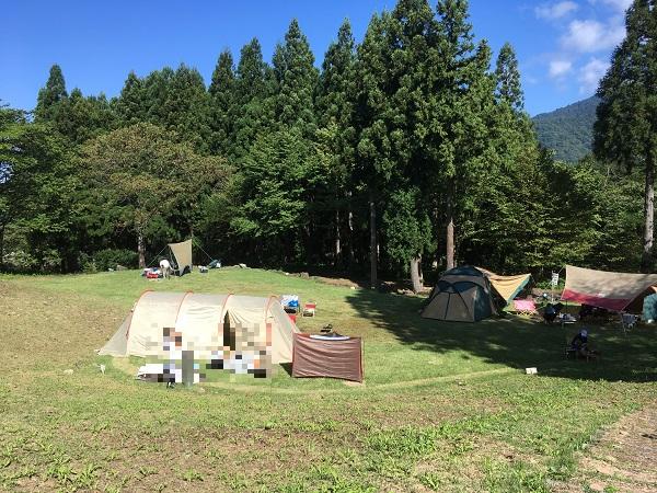 1泊1030円キャンプサイト!立山山麓家族旅行村でテント泊