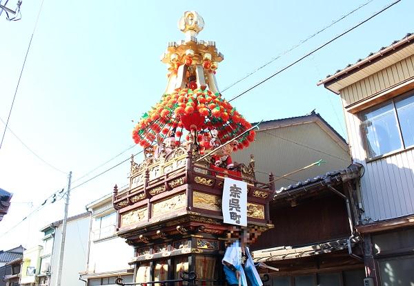 内川ホリデーマーケット  曳山祭り