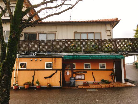 金沢ランチ:サラダ食べ放題が嬉しい!イタリアンカフェぶどうの木 外観