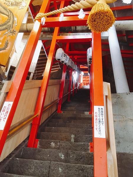 階段 新潟最強の金運パワースポット神社・高龍神社へ!!