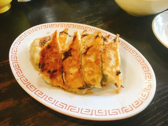 餃子 ラーメン日記:加賀温泉郷の人気中華アサヒ軒のえびうま煮そばが旨い