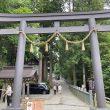 戸隠神社中社へ初参拝