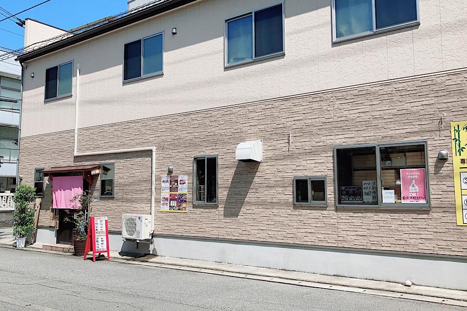 店舗外観 割烹本田 富山