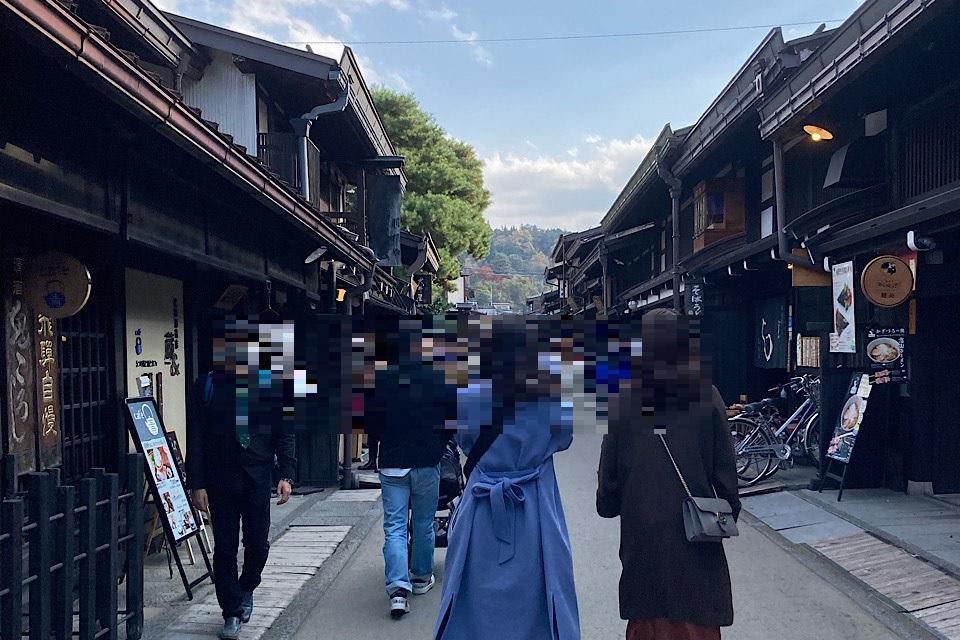 古い町並み 食べ走りにピッタリ!飛騨高山中心部はシティランニングに最適