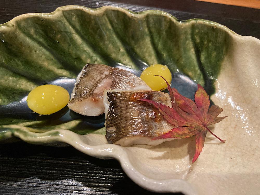 太刀魚の塩漬け焼き 日本料理冨久屋(ふくや)富山