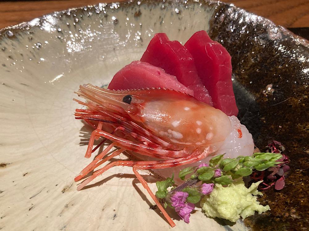 お刺身盛り合わせ富山県マグロ 日本料理冨久屋(ふくや)富山