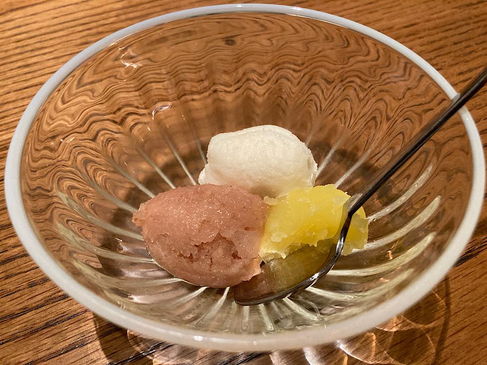 デザート 甘酒 日本料理冨久屋(ふくや)富山