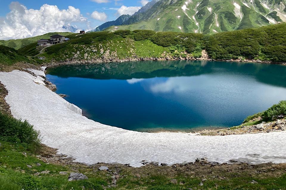 県民割で実質千円!真夏の立山黒部アルペンルートを楽しむ みくりが池