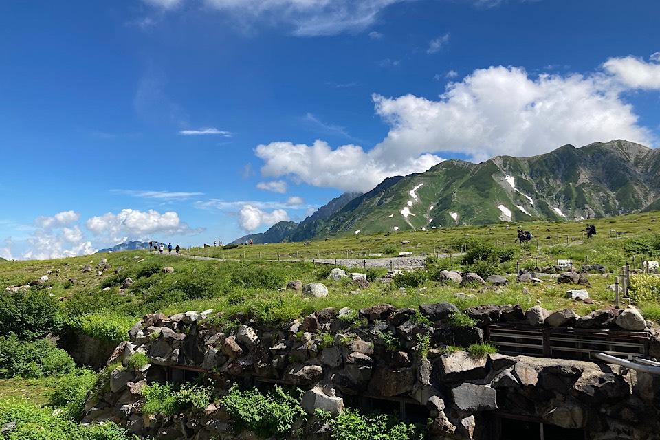 県民割で実質千円!真夏の立山黒部アルペンルートを楽しむ