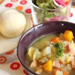 CAFE RIMOTAIL(リモテイル)さん10種野菜スープを頂く